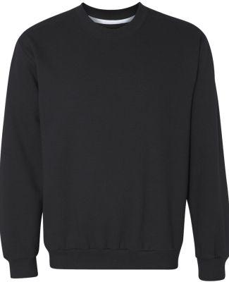 71000 Anvil Men's Fashion Crew Neck Sweatshirt Black