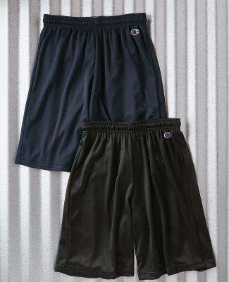 8731 Champion Logo Adult Mesh Shorts Catalog