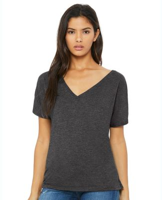 BELLA 8815 Womens Flowy V-Neck T-shirt Catalog