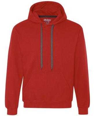 92500 Gildan Adult Premium Cotton Hooded Sweatshir RED
