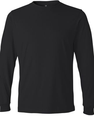 949 Anvil Adult Long-Sleeve Fashion-Fit Tee Black