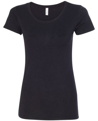BELLA 8413 Womens Tri-blend T-shirt SOLID BLK TRBLND