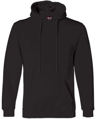 B960 Bayside Cotton Poly Hoodie S - 6XL  Black