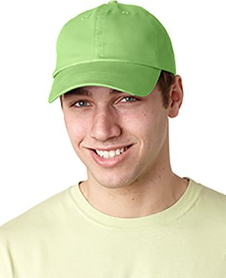 Adams EB101 Brushed Twill Dad Hat Lime