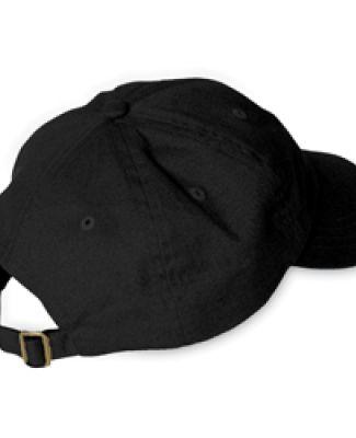 Adams EB101 Brushed Twill Dad Hat BLACK