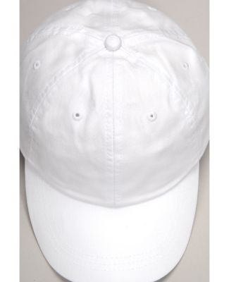 Adams EP101 Twill Pigment-dyed Dad Hat WHITE