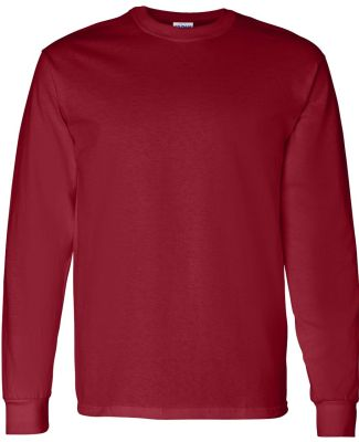 5400 Gildan Adult Heavy Cotton Long-Sleeve T-Shirt GARNET