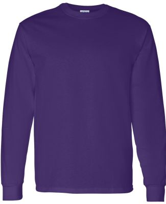 5400 Gildan Adult Heavy Cotton Long-Sleeve T-Shirt PURPLE