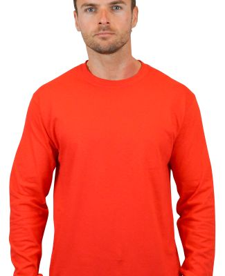 5400 Gildan Adult Heavy Cotton Long-Sleeve T-Shirt RED