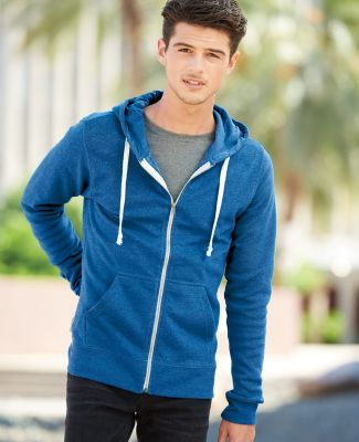 J8872 J-America Adult Tri-Blend Full-Zip Hooded Fleece Catalog