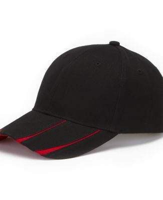 LG102 Adams Cotton Twill Legend Cap Back/Red