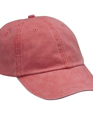 Adams LP101 Twill Optimum Dad Hat Poppy