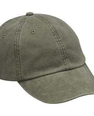 Adams LP101 Twill Optimum Dad Hat Olive