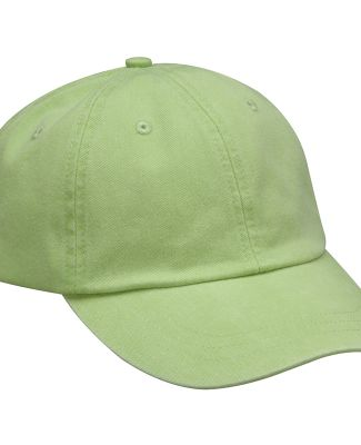 Adams LP101 Twill Optimum Dad Hat Lime