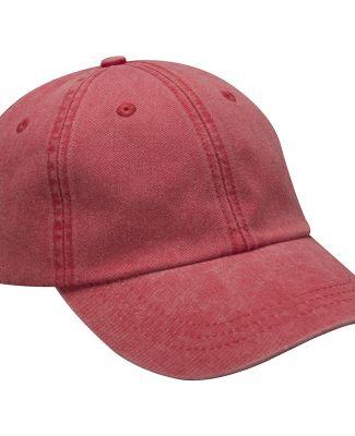 Adams LP101 Twill Optimum Dad Hat Red