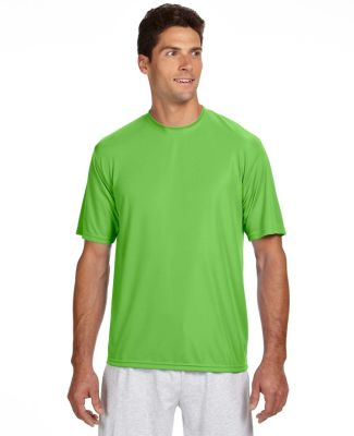 N3142 A4 Adult Cooling Performance Crew LIME
