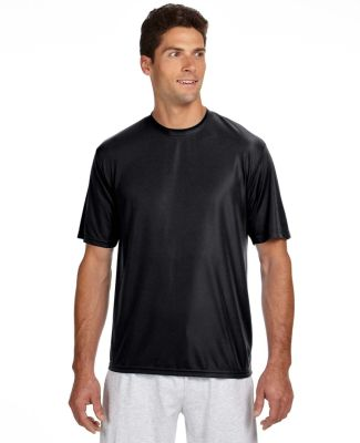 N3142 A4 Adult Cooling Performance Crew BLACK