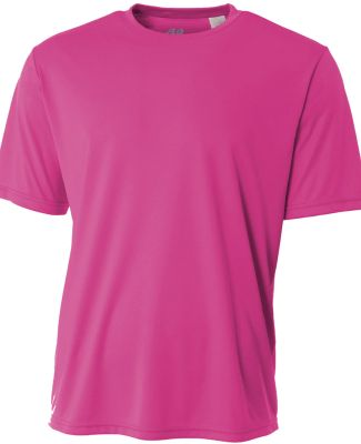 N3142 A4 Adult Cooling Performance Crew FUCHSIA