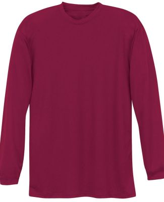 N3165 A4 Adult Cooling Performance Long Sleeve Cre CARDINAL