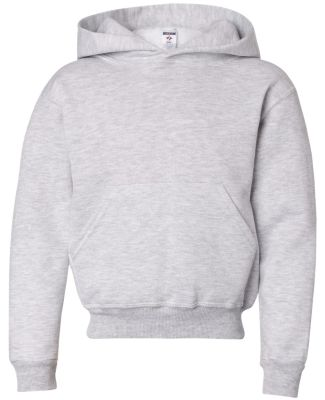 996Y JERZEES® NuBlend™ Youth Hooded Pullover Sw Ash