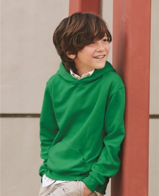 996Y JERZEES® NuBlend™ Youth Hooded Pullover Sweatshirt Catalog