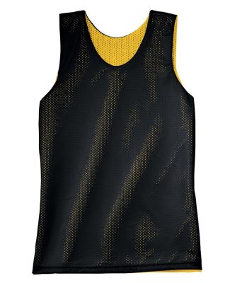 NF1270 A4 Adult Reversible Mesh Tank BLACK/ GOLD
