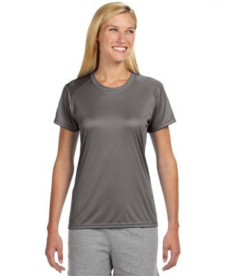 NW3201 A4 Women's Cooling Performance Crew Graphite