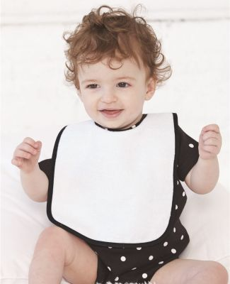 R1003 Rabbit Skins Rabbit Skins Infant Terry Snap Bib Catalog