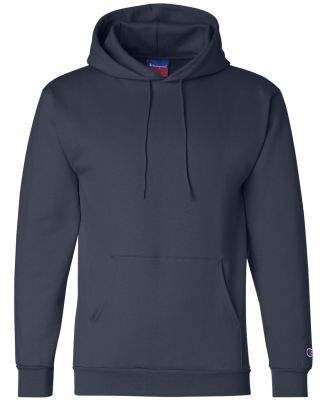 Champion S700 Logo 50/50 Pullover Hoodie Navy