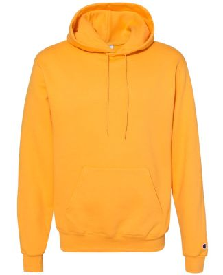 Champion S700 Logo 50/50 Pullover Hoodie Gold