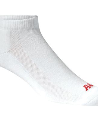 S8002 A4 Performance Low Cut Socks White