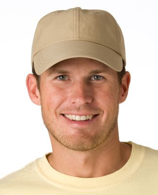 SH101 Adams Sunshield Unconstructed Blended Cap wi Khaki