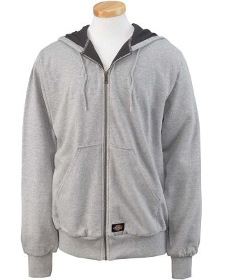 TW382 Dickies Adult Thermal-Lined Hooded Fleece Ja ASH GRAY