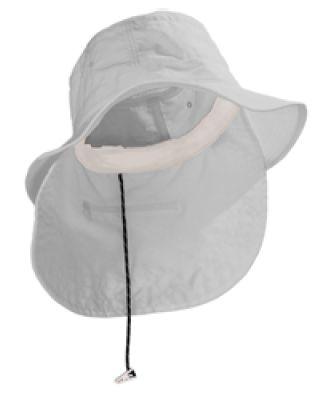 UBM101 Adams Extreme Vacationer Bucket Cap White