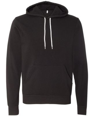 BELLA+CANVAS 3719 Unisex Cotton/Polyester Pullover BLACK