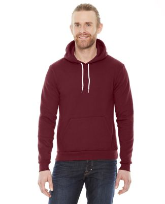 F498 American Apparel Flex Fleece Drop-Shoulder Pu Cranberry