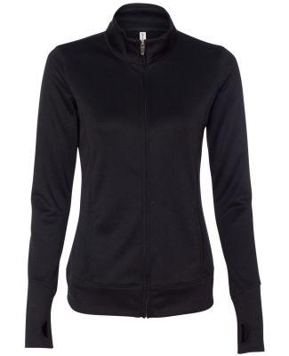 W4009 All Sport Ladies' Lightweight Jacket Black