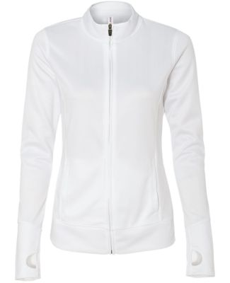 W4009 All Sport Ladies' Lightweight Jacket White