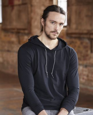 987 Anvil Ringspun Long-Sleeve Hooded T-Shirt Catalog
