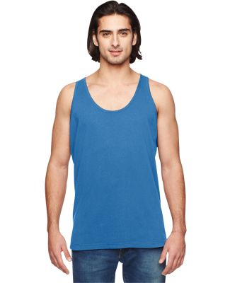 2411 American Apparel Unisex Power Washed Tank Blue Whale