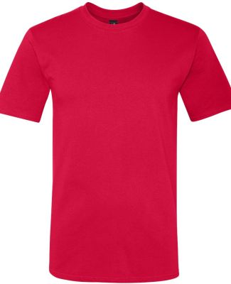 780 Anvil Middleweight Ringspun T-Shirt Red
