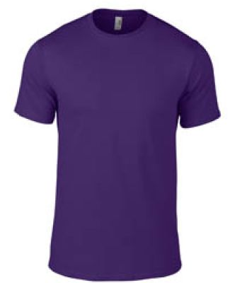 780 Anvil Middleweight Ringspun T-Shirt Purple
