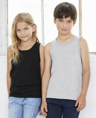 BELLA 3480Y Unisex Youth Cotton Tank Top Catalog