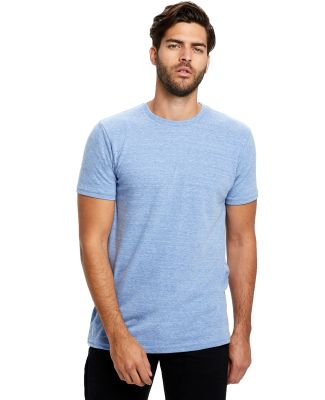 US2229 US Blanks Tri-Blend Jersey Tee Tri-Blue