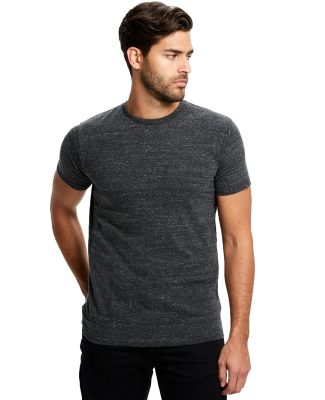 US2229 US Blanks Tri-Blend Jersey Tee Tri-Charcoal