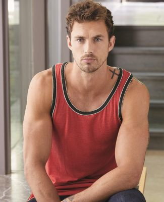 Alternative Apparel 22060E1 Men's Double Ringer Tank Catalog