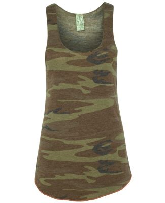 Alternative Apparel AA1927P Ladies Meegs Printed R CAMO