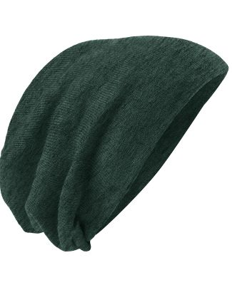 DT618 District - Slouch Beanie Forest Grn Hth