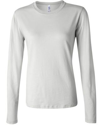 BELLA 6500 Womens Long Sleeve T-shirt WHITE