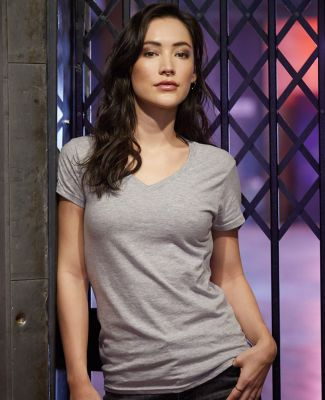 88VL Anvil - Missy Fit Ringspun V-Neck T-Shirt Catalog